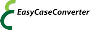Easy Case Converter Logo 60